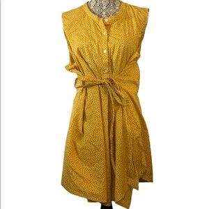 3/$30 Old Navy Maternity Belted Tunic Yellow 2XL